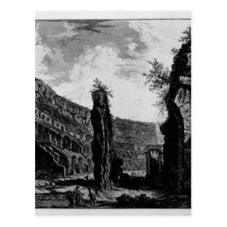 Interior View of the Flavian Amphitheatre Postcard