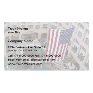 Interior View Of The Grand Hyatt In Washington Dc Double-Sided Standard Business Cards (Pack Of 100)