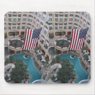 Interior View Of The Grand Hyatt In Washington Dc Mouse Pad