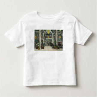 Interior View of the Hotel Rochester Lobby Toddler T-shirt
