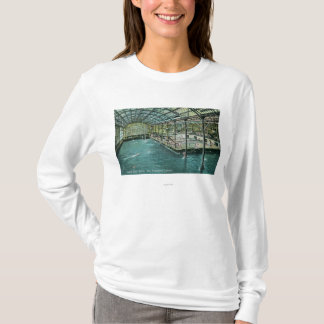 Interior View of the Indoor Sutro Baths T-Shirt