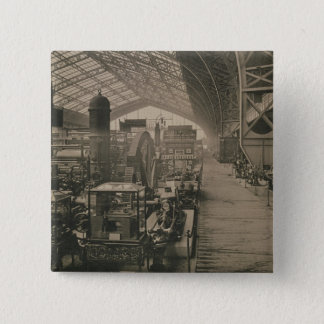Interior view of the machinery hall, from 'L'Album Button