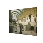 Interior View of the Main Entrance Canvas Print