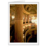 Interior view of the Opera House looking towards t Greeting Card
