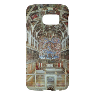 Interior view of the Sistine Chapel Samsung Galaxy S7 Case