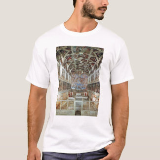Interior view of the Sistine Chapel T-Shirt