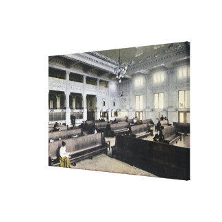 Interior View of Union Station Canvas Print