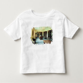 Interior view toddler t-shirt
