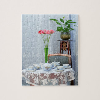 Interior with service jigsaw puzzle