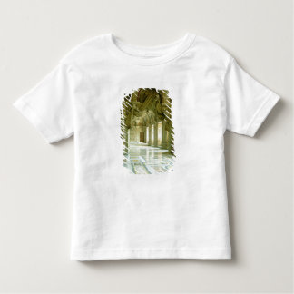 Interior with view of sculpted angels toddler t-shirt