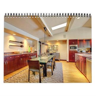 Interiores caseros. Calendario 2012. de las