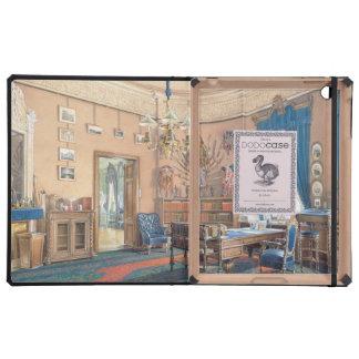 Interiores de Edward Petrovich de la pequeña ermit iPad Protector