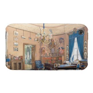 Interiores de Edward Petrovich de la pequeña ermit Case-Mate iPhone 3 Funda