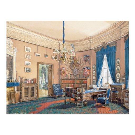 Interiores de Edward Petrovich de la pequeña ermit Postal