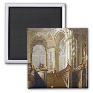 interiores de Giambattista Tiepolo (1696-1770) y Imán Para Frigorifico