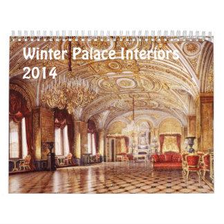 Interiores del calendario del palacio 2014 del inv