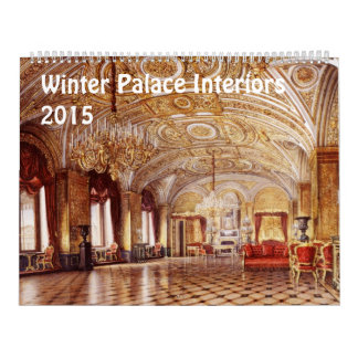 Interiores del calendario del palacio 2015 del inv