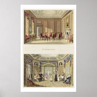 Interiores: La sala vieja del cedro y el Li modern Impresiones