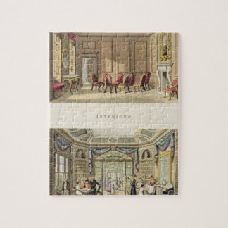 Interiores: La sala vieja del cedro y el Li modern Rompecabezas