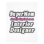 Interiorista del SuperMom… Plantillas De Membrete