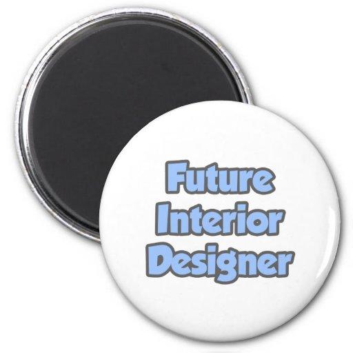 Interiorista futuro imán redondo 5 cm