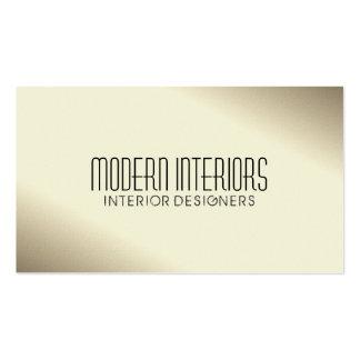 Interiorista - tarjetas de visita