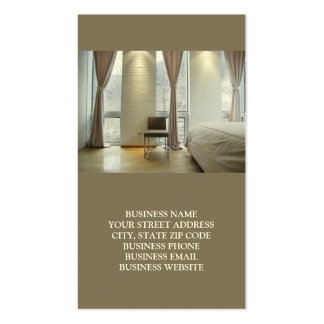 Interiors or Staging Business Cards