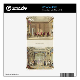 Interiors: The Old Cedar Parlour and The Modern Li iPhone 4 Decals