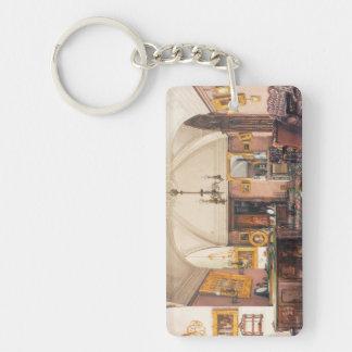 Interiors Winter Palace Ukhtomsky Konstantin paint Rectangle Acrylic Keychain
