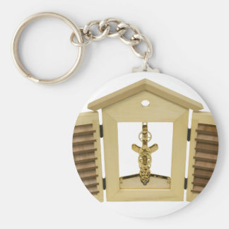 InteriorWorkings060709 Basic Round Button Keychain