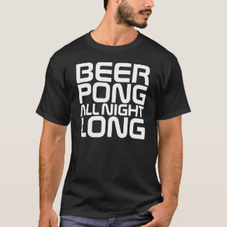 InterKnit Couture - BEER PONG All Night Long T-Shirt