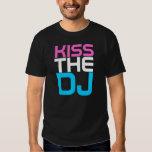 Interknit Couture - KISS THE DJ T-shirt