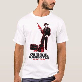 INTERKNIT COUTURE - Mobster Original Gangster T-Shirt