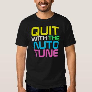 InterKnit Couture- QUIT AUTOTUNE T-shirt