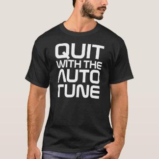 InterKnit Couture - QUIT AUTOTUNE T-shirt