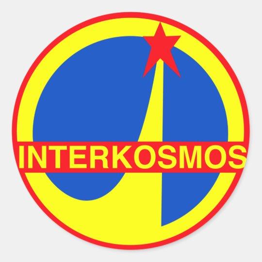 Interkosmos Classic Round Sticker