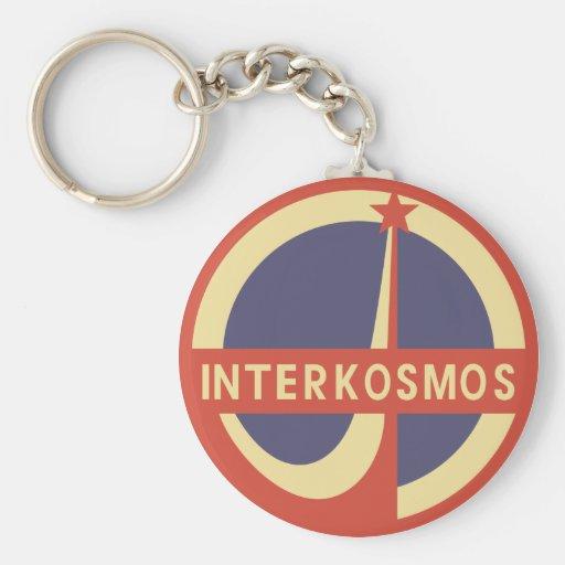 Interkosmos Key Chains