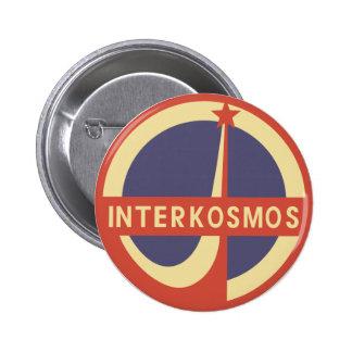 Interkosmos Pinback Button
