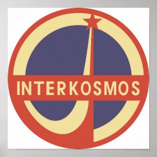 Interkosmos Poster