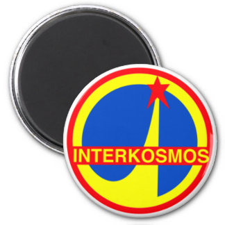 Interkosmos, Soviet Union Communist Space Program Magnet