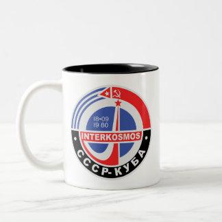 Interkosmos Two-Tone Coffee Mug