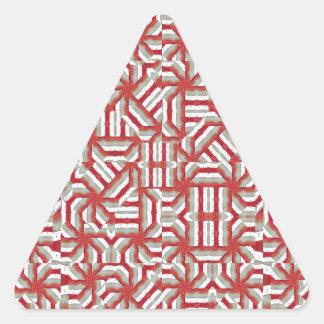 Interlace Tribal Triangle Sticker