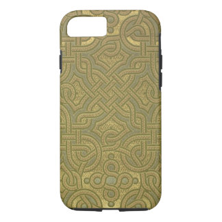 Interlaced metallic wallpaper, 1880-1890 iPhone 7 case