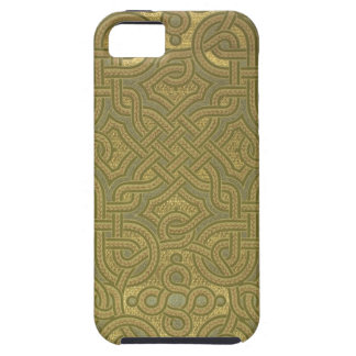 Interlaced metallic wallpaper, 1880-1890 iPhone SE/5/5s case