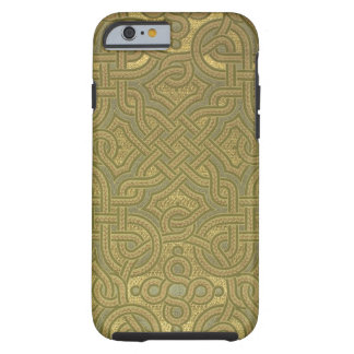 Interlaced metallic wallpaper, 1880-1890 tough iPhone 6 case