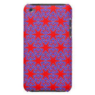 INTERLACED: RED & BLUE ILLUSION  ~ iPod Case-Mate CASES