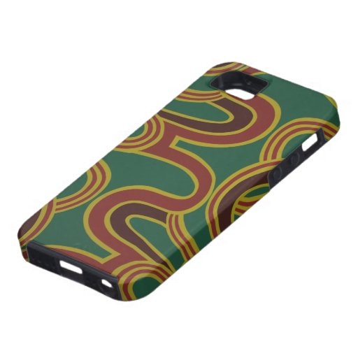 Interlacing Curves wallpaper, 1966-1968 iPhone 5 Cover