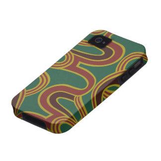 Interlacing Curves wallpaper 1966-1968 Case-Mate iPhone 4 Case