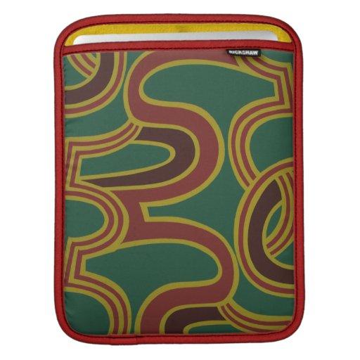 Interlacing Curves wallpaper, 1966-1968 iPad Sleeves