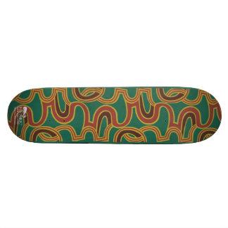 Interlacing Curves wallpaper, 1966-1968 Skateboard